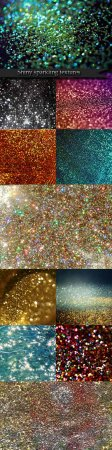 Shiny sparkling textures